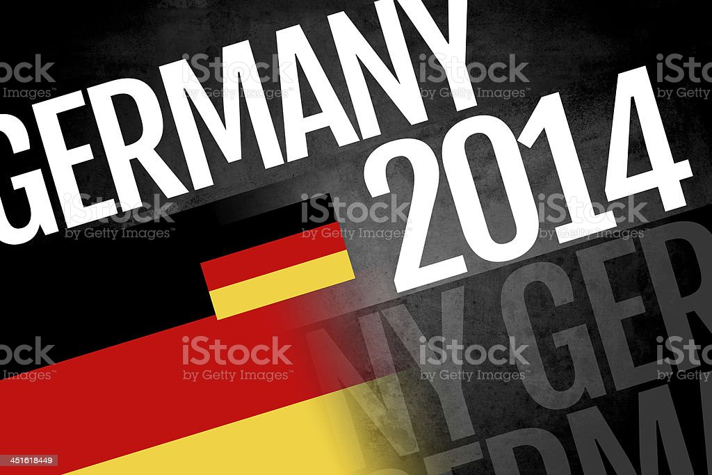 Germany written on abstract background stock photo