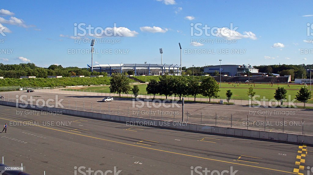Germany: Zeppelin Field in Nuremberg stock photo