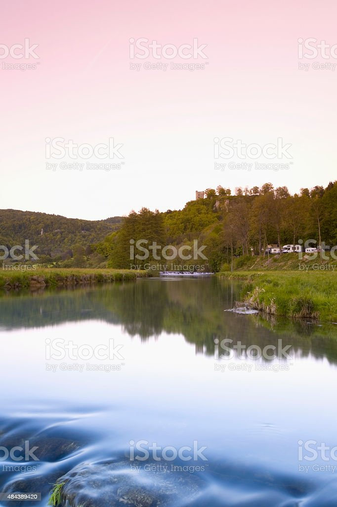 Germany,Bavaria,Burg Neideck stock photo