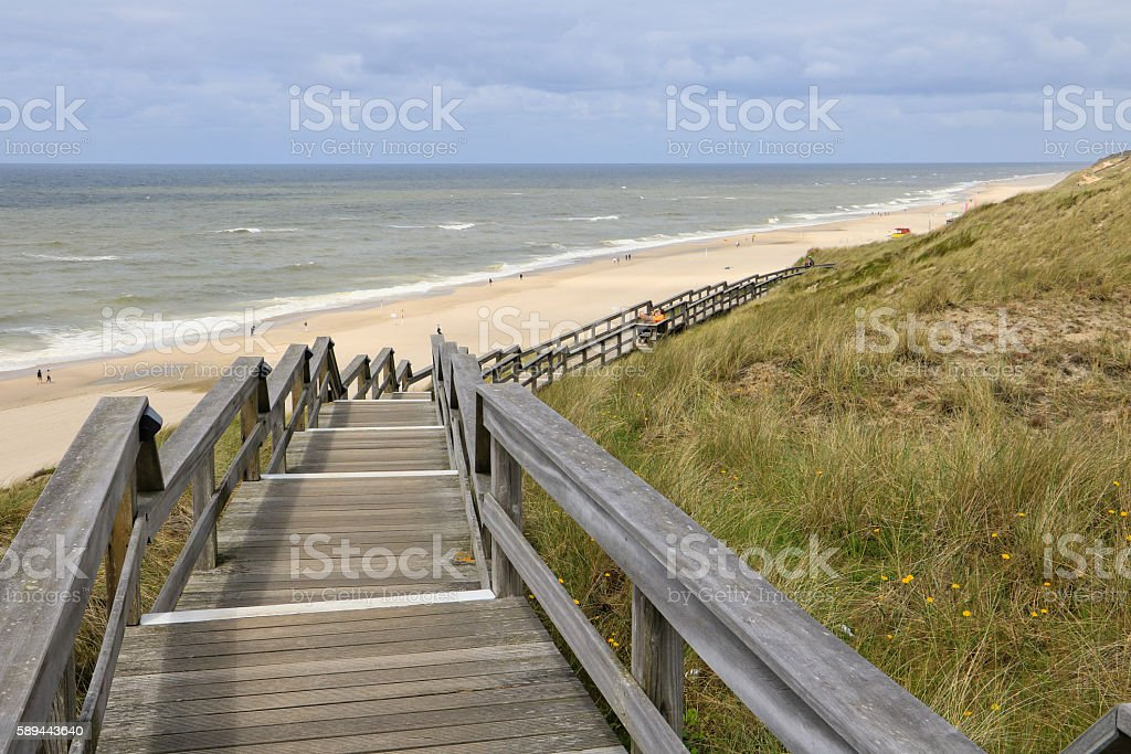 Germany's beautiful island Sylt stock photo