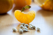 Germination with tangerines