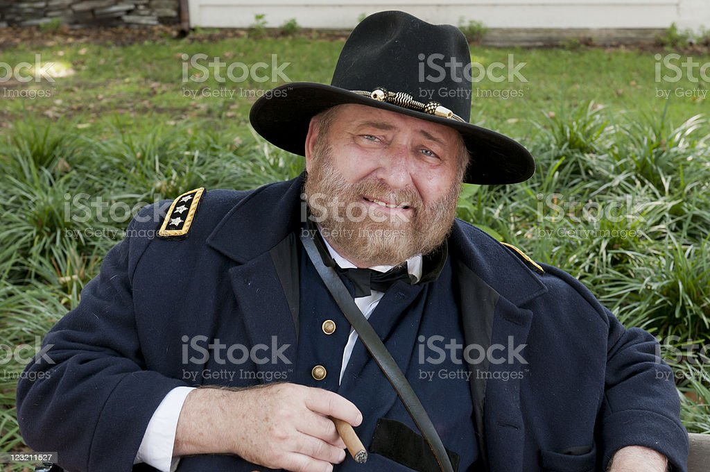 Gerneral Ulysses S. Grant royalty-free stock photo