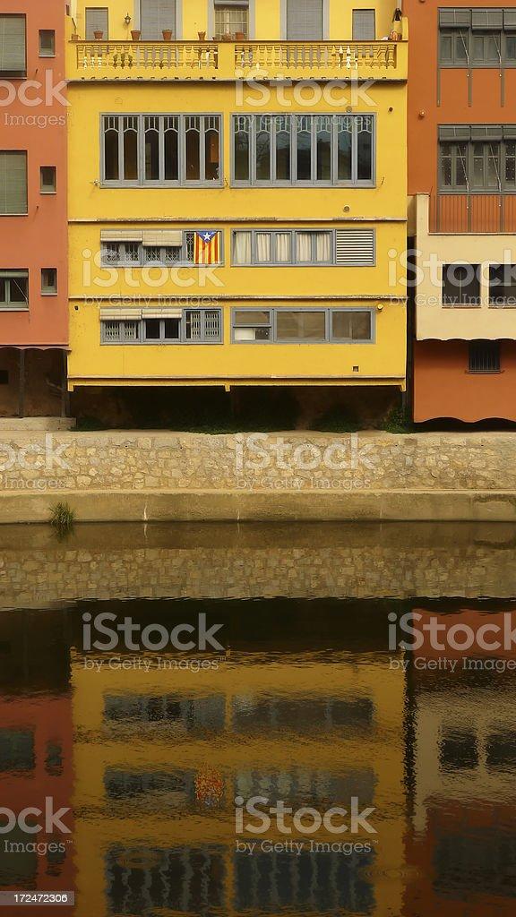 Gerona Reflections stock photo