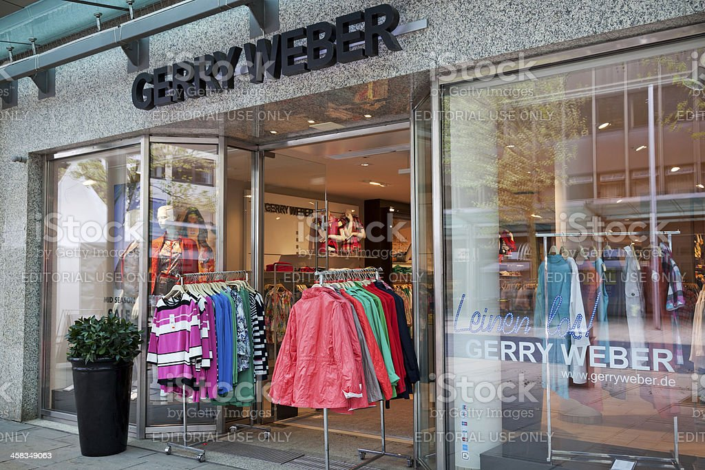 Gerry Weber fashion store stock photo