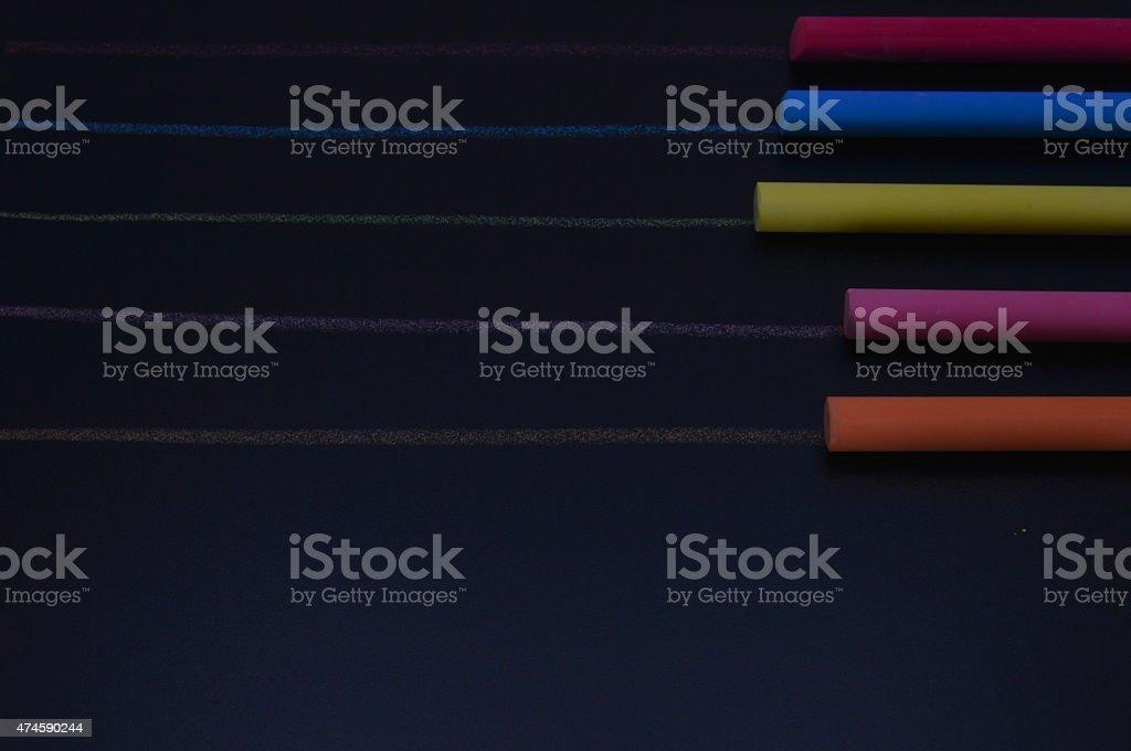 gessetti colorati stock photo