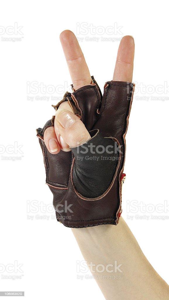 Gestures of hands stock photo