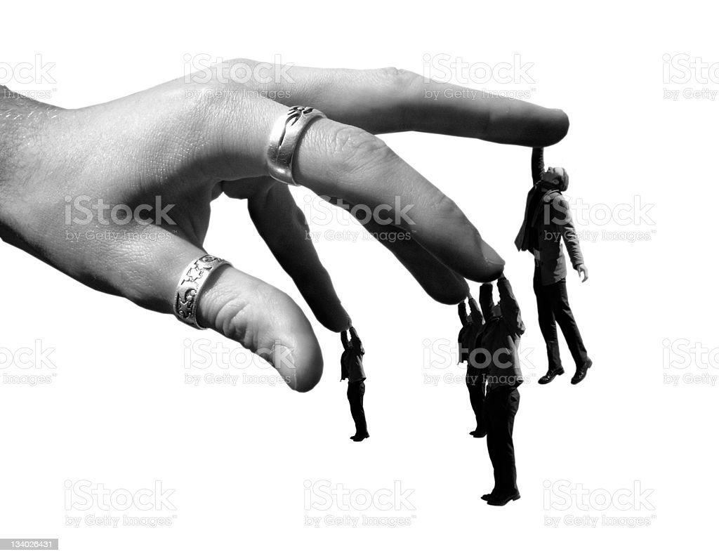 get a grip royalty-free stock photo