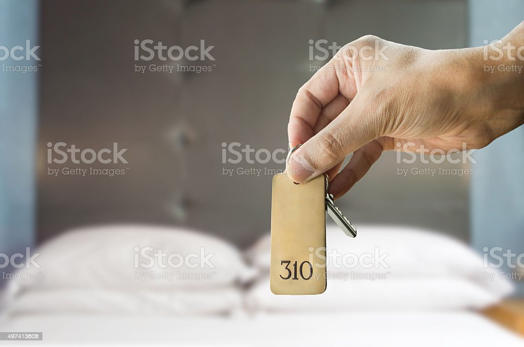 get a suite in the luxe hotel stock photo