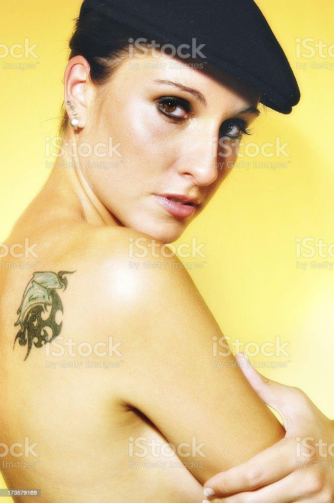 get a tattoo stock photo