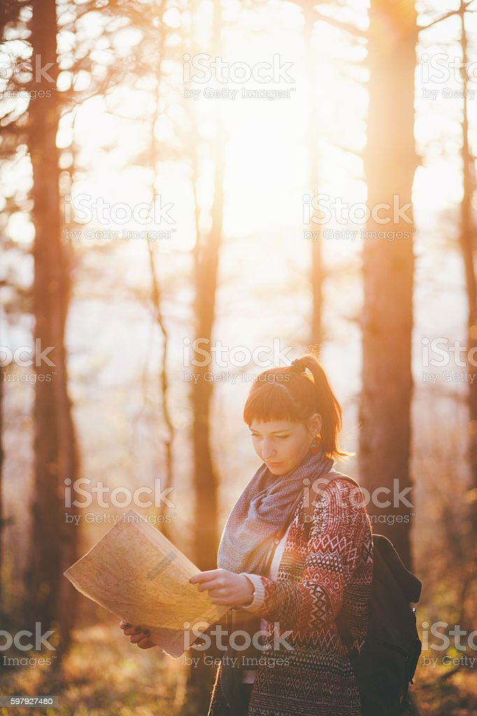 Get away from everything! stock photo
