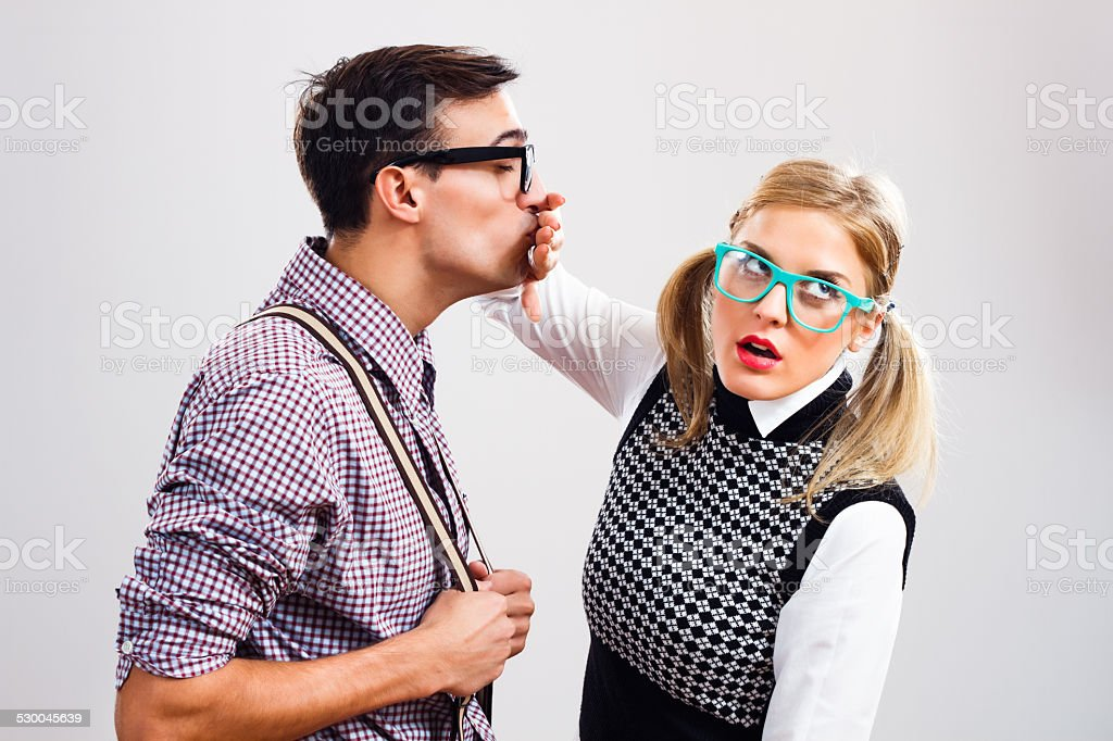 Get away from me! stock photo