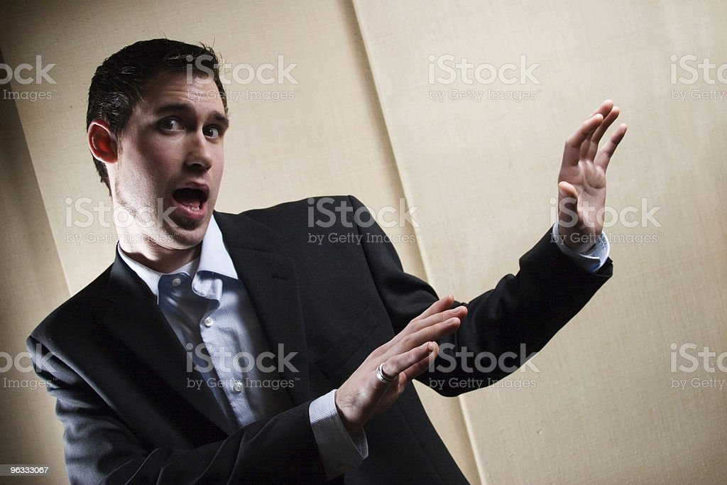 Get Away From Me stock photo