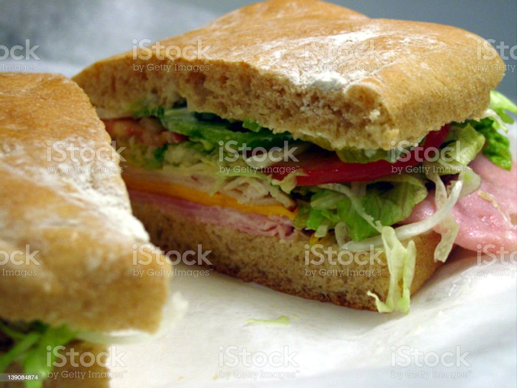 get closer to this sandwich royalty-free stock photo