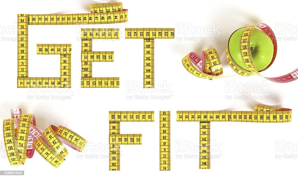 Get Fit! stock photo