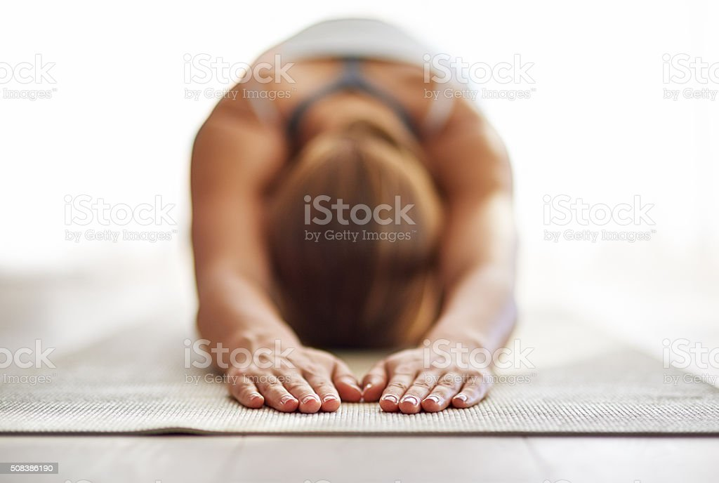 Get grounded and give gratitude stock photo