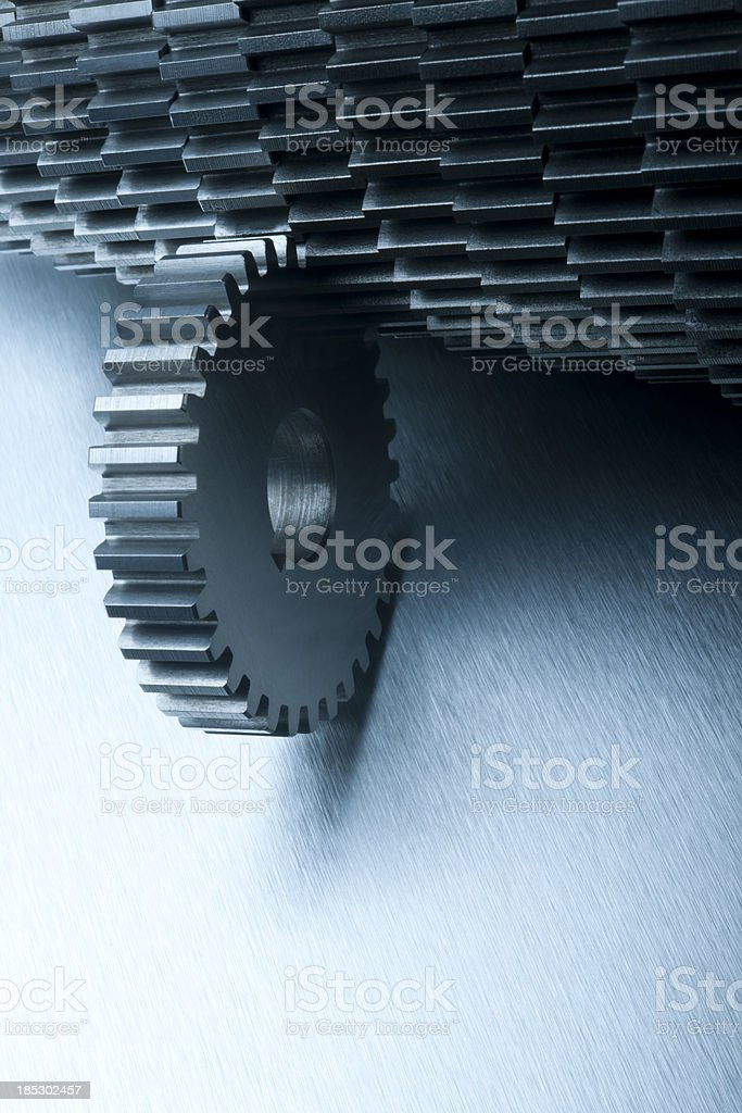 Get In Gear stock photo