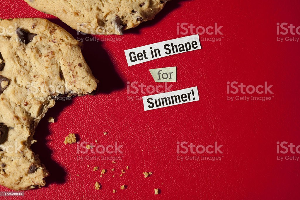 Get in Shape for Summer royalty-free stock photo