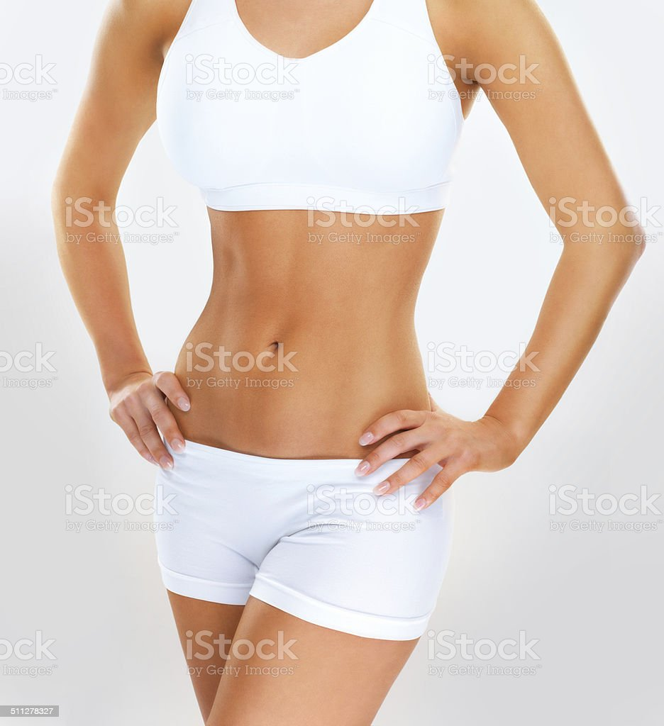 Get in shape for summer! stock photo