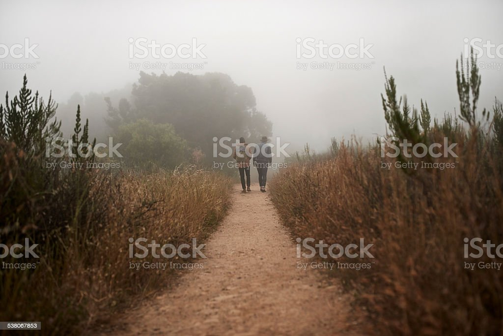 Get into the outdoors stock photo