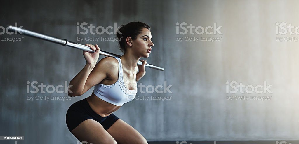 Get lifting for some seriously sexy results stock photo