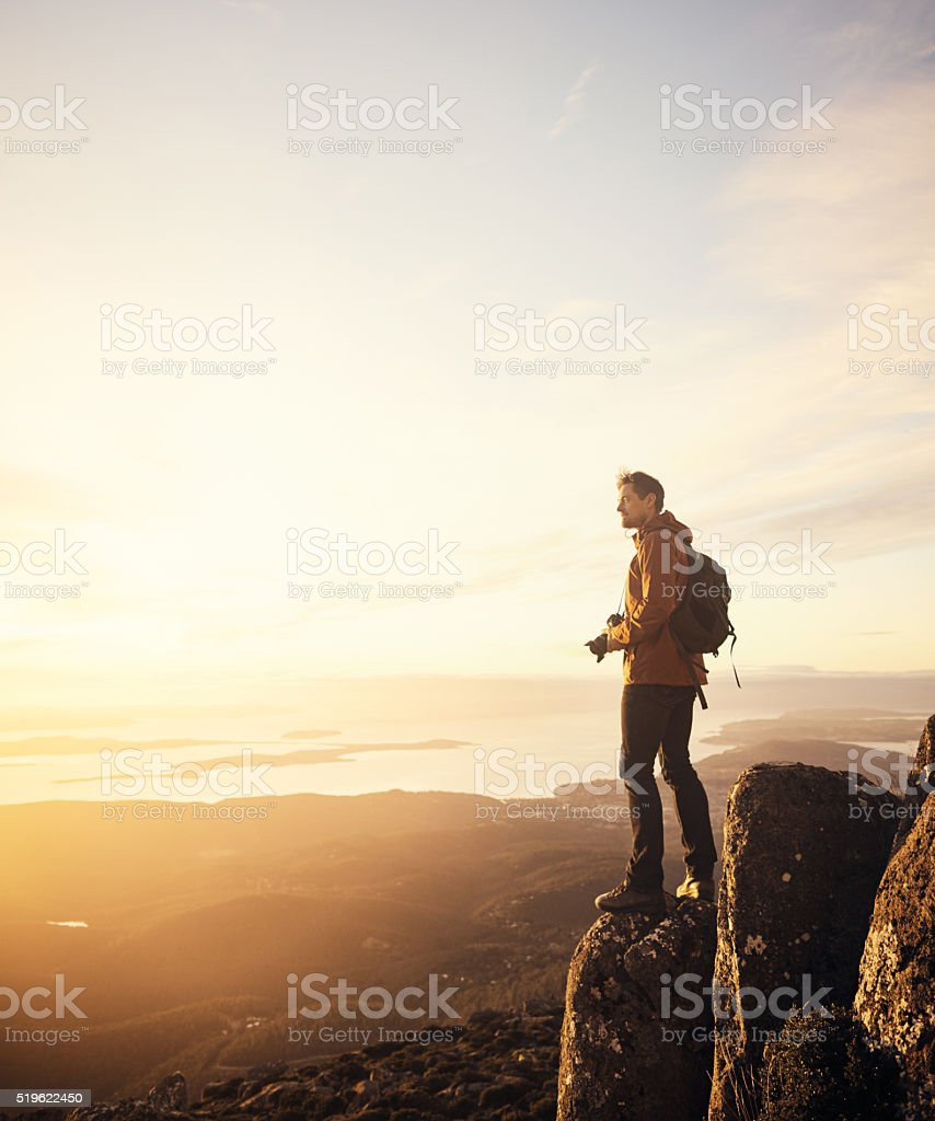 Get lost in nature and you'll find yourself stock photo