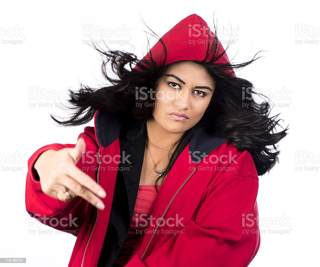 Get off royalty-free stock photo