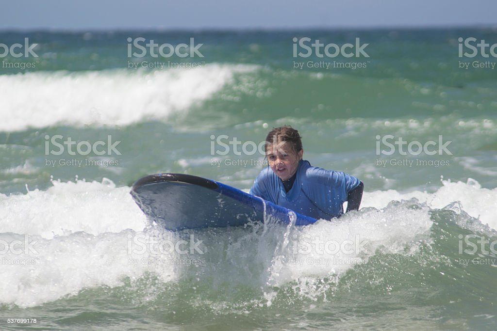 Get on that wave stock photo