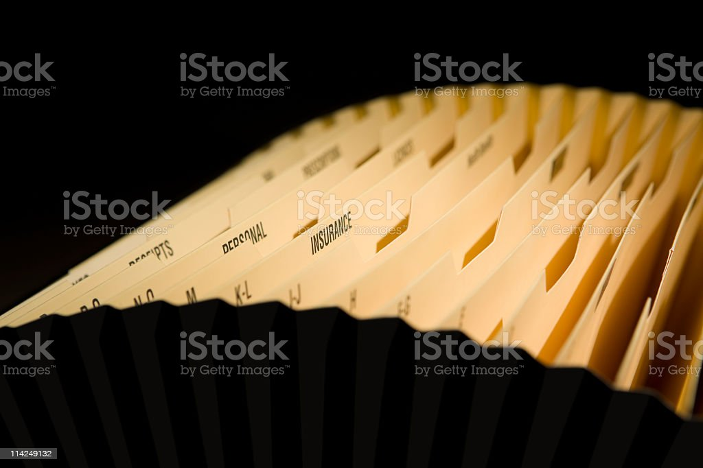 Get organised royalty-free stock photo