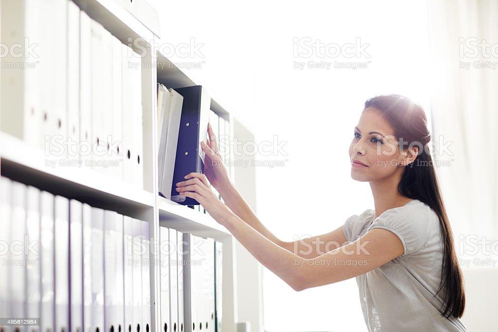 Get organized stock photo