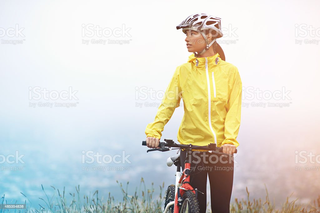 Get out and explore stock photo