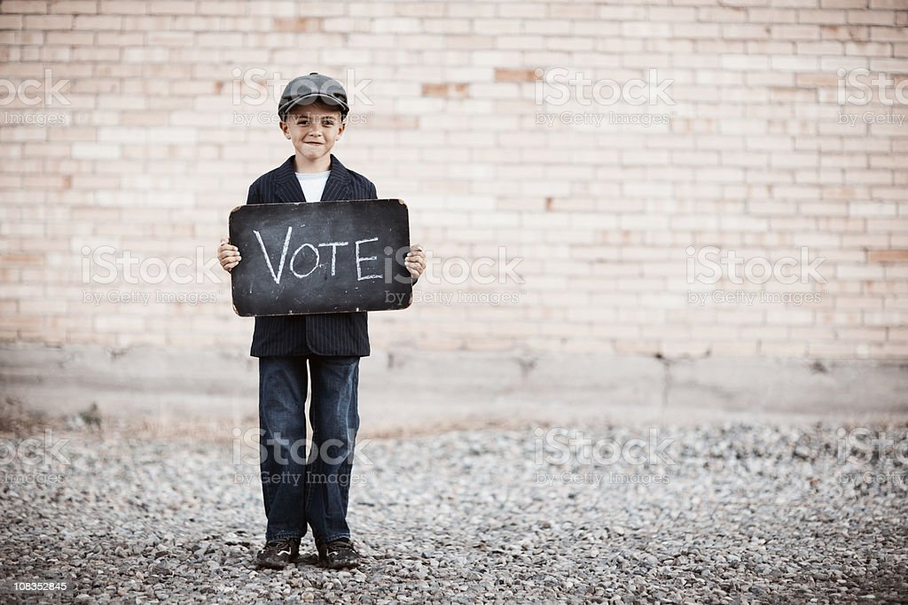 Get Out and Vote stock photo