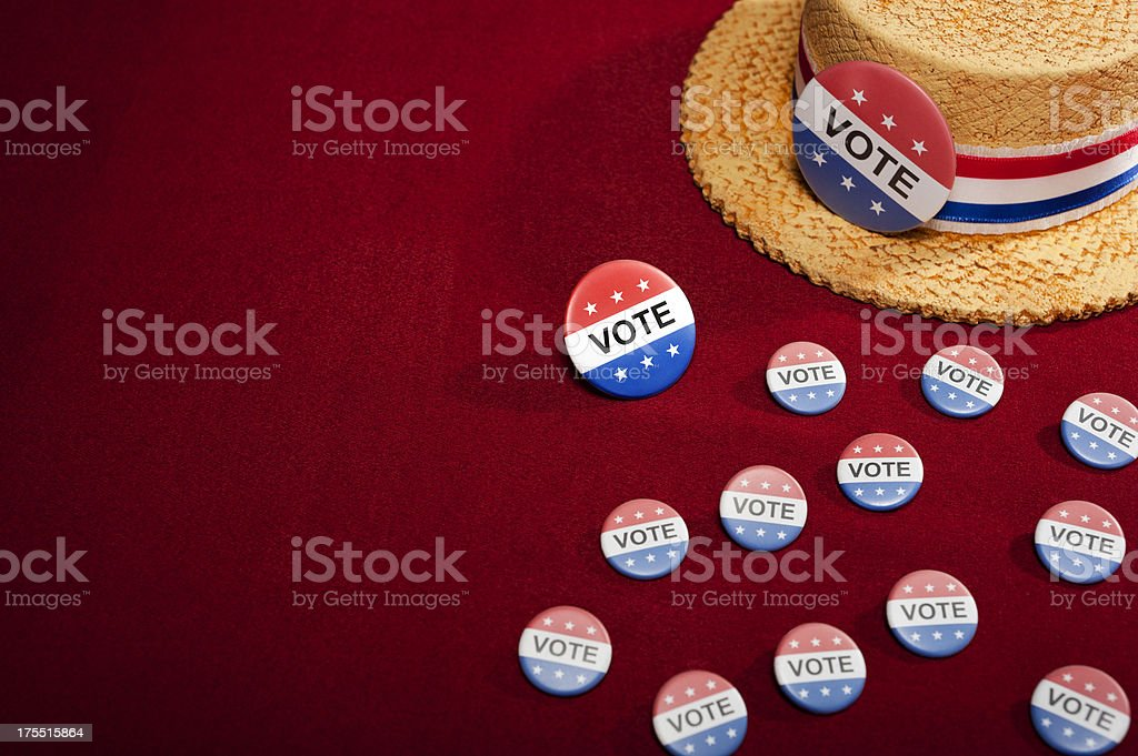 Get out and Vote royalty-free stock photo