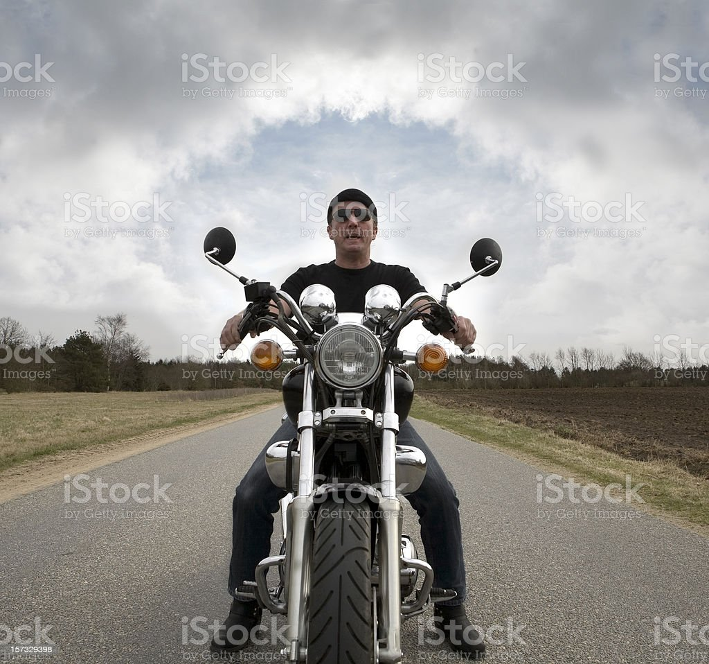 Get out of my way royalty-free stock photo
