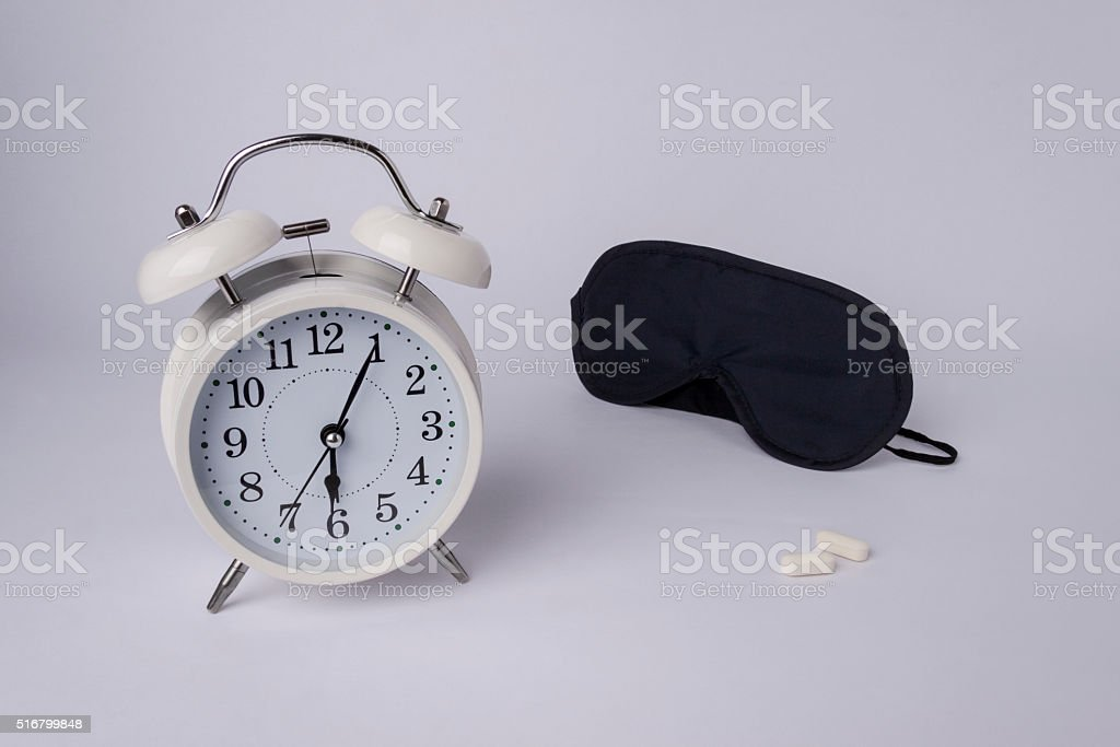 get over insomnia stock photo