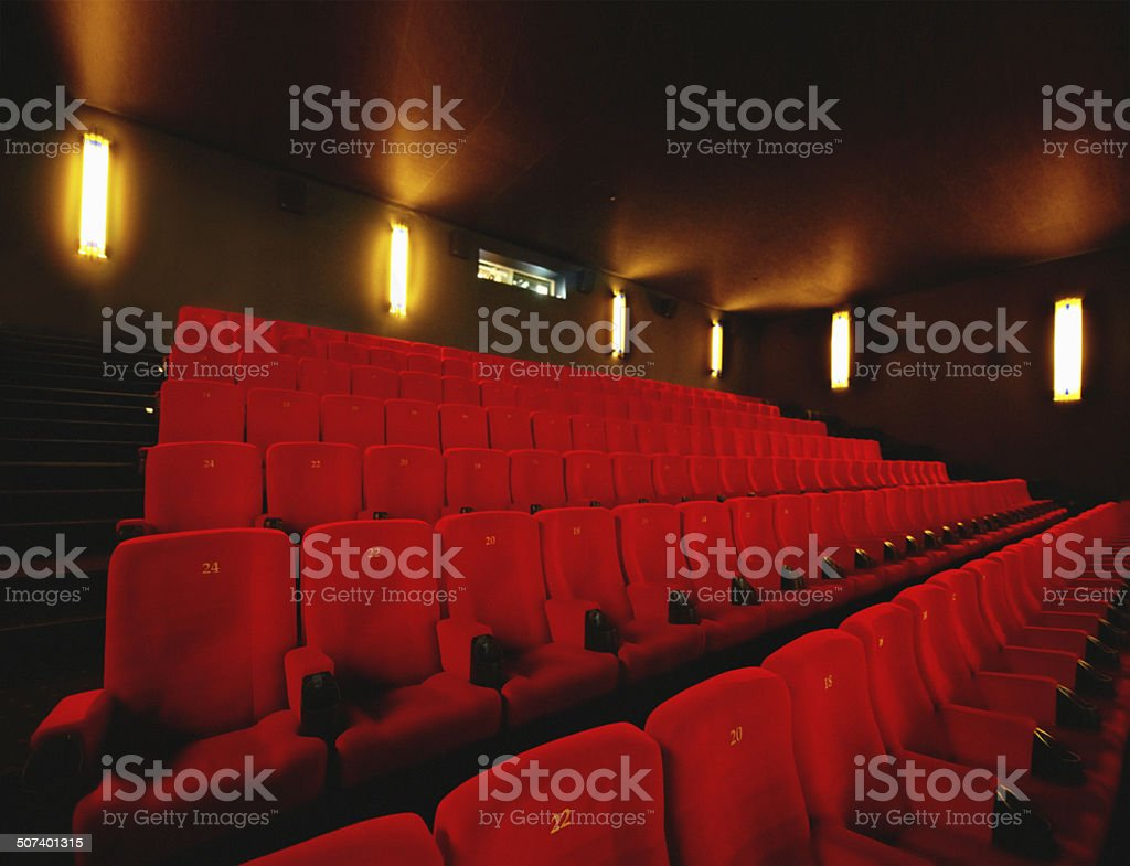 Get ready for a cinematic experience royalty-free stock photo