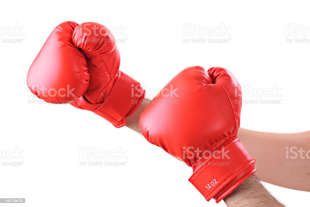 Get ready for a fight royalty-free stock photo