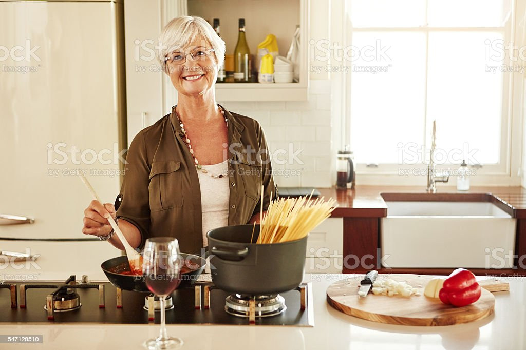 Get ready for something pasta-licious stock photo