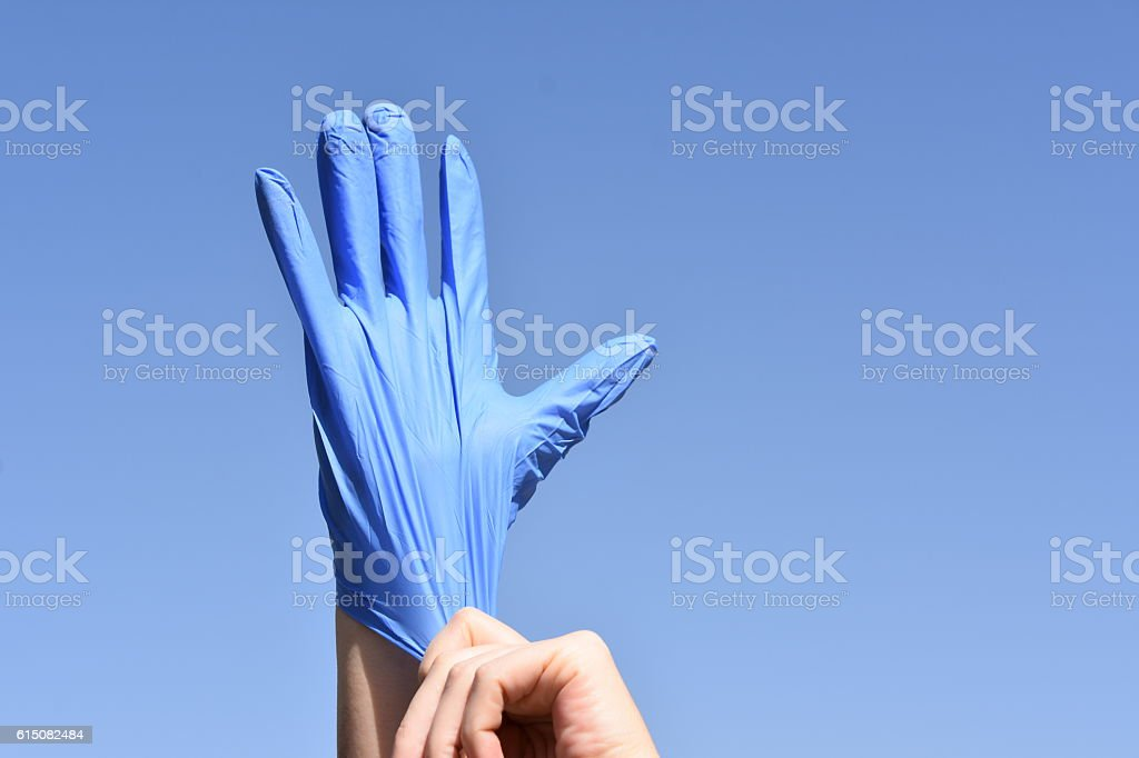 get ready for treatment stock photo