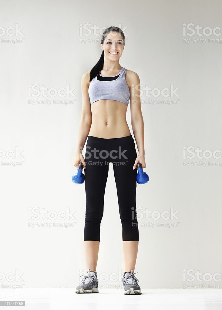 Get ready to lift some weights stock photo