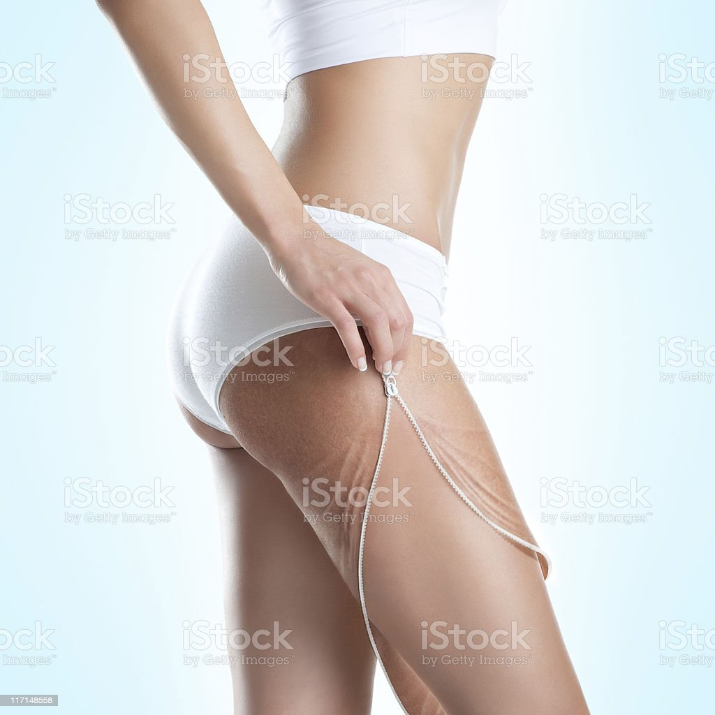 Get Rid of Old Skin stock photo