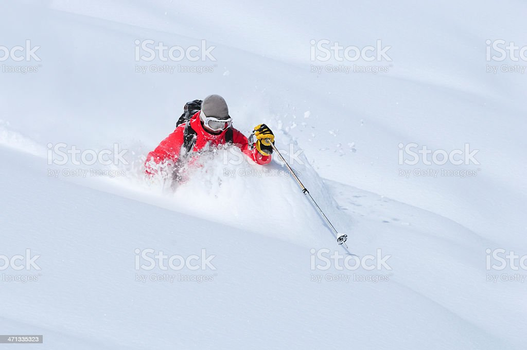 Get Some Fresh Powder stock photo