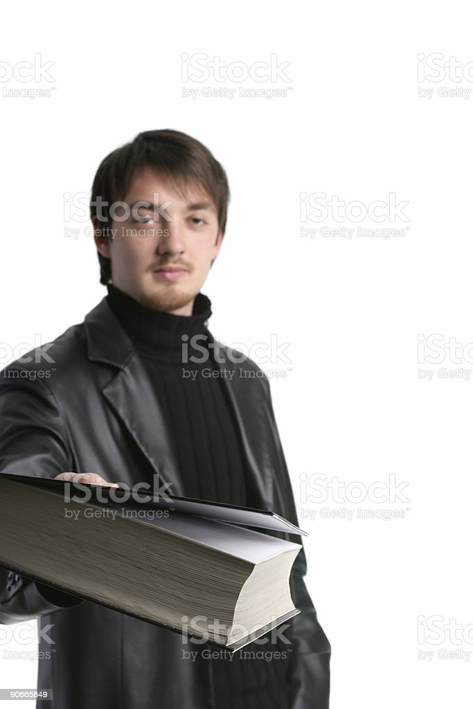 Get some info royalty-free stock photo