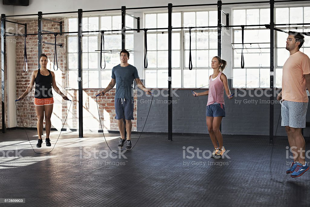 Get the blood pumping stock photo