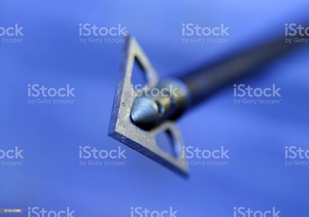 Get The Point stock photo