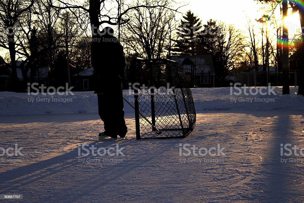 get the puck out royalty-free stock photo