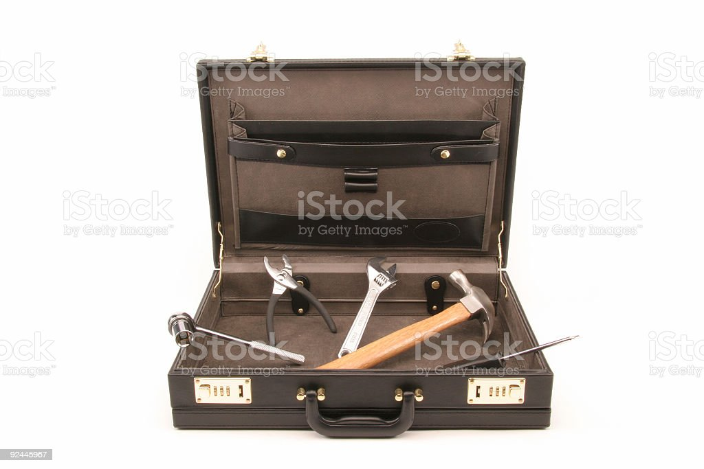 Get the right tools for business stock photo
