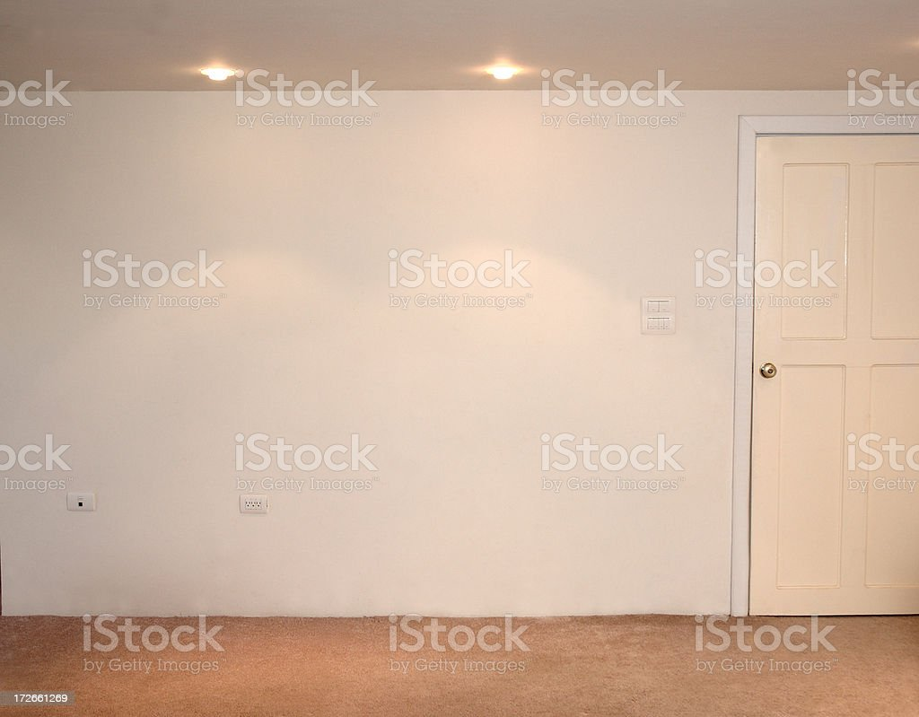 get the wall royalty-free stock photo