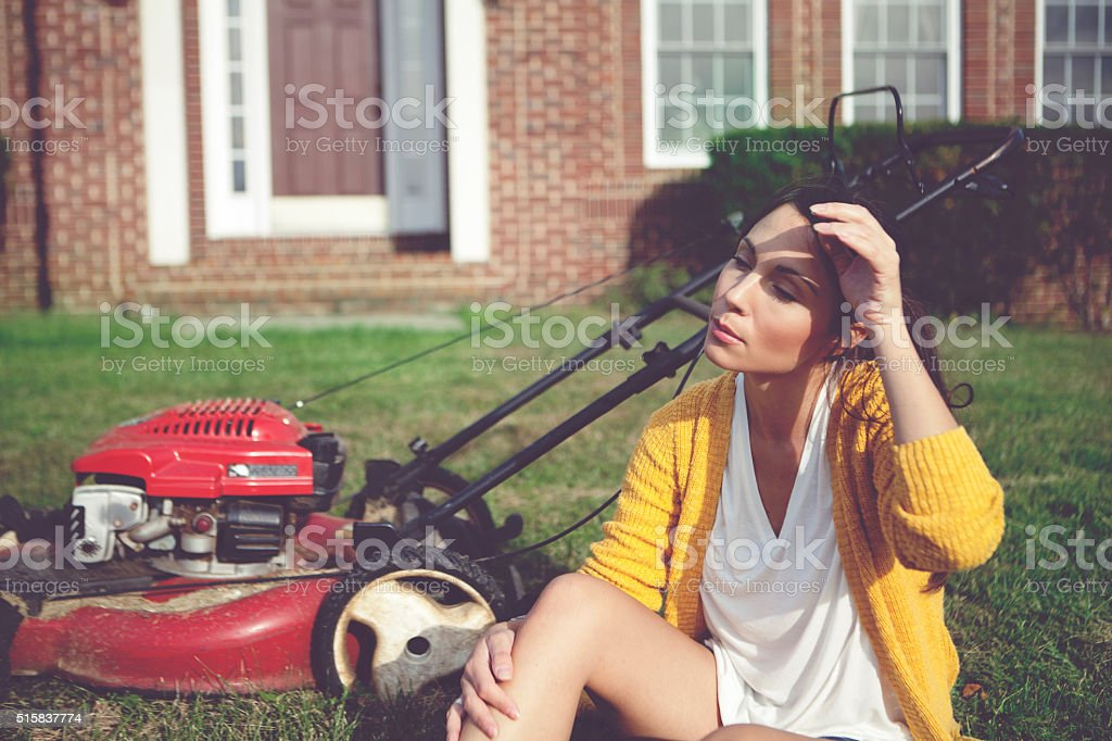 Get tired stock photo