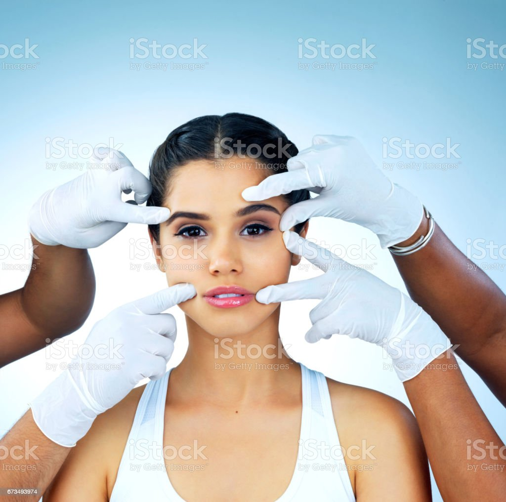 Get to the wrinkles before they get to me stock photo