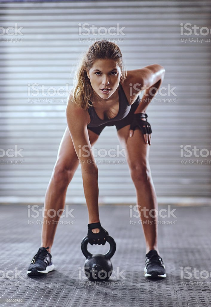 Get your game face on stock photo